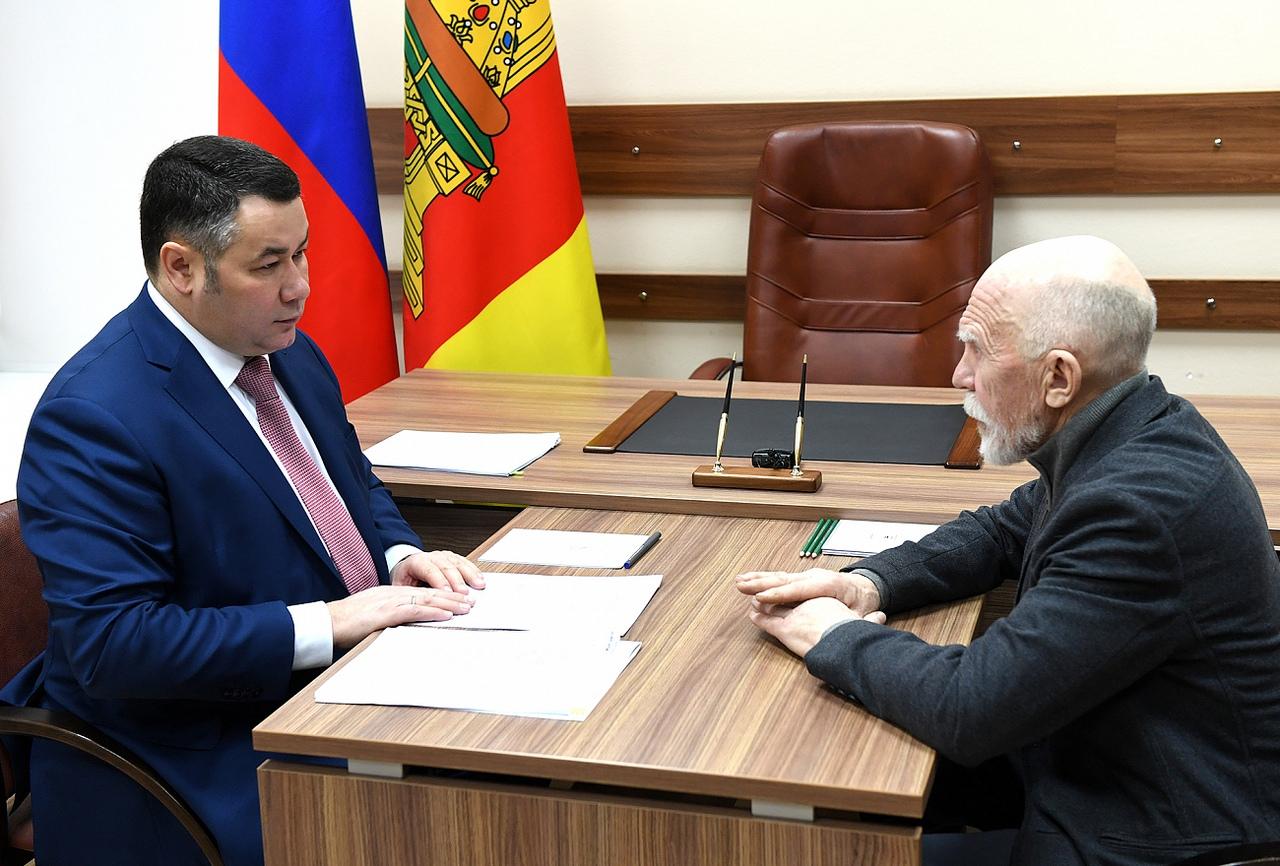 Губернатор пообещал Горицкой школе  помощь в приобретении новой техники