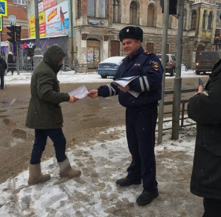 Кимрские полицейские провели профилактическую акцию «Осторожно, мошенники!»