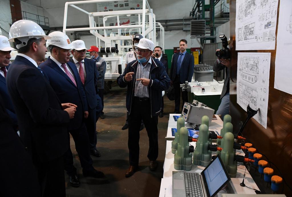 Руденя: в Кимрах создадут кластер по выпуску геологоразведочной техники